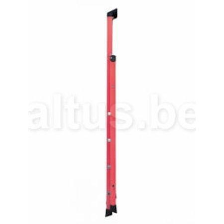 TUBESCA 4 treden Glasvezeltrapladder- Isolerende type Pro Intensif