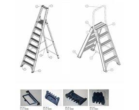 Trapladder onderdelen