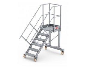 Modulair bordestrap systeem trap 45°