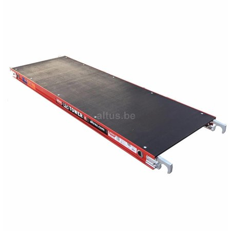 altrex RS TOWER 42-S met Safe-Quick® Guardrail 1,35 x 1,85m x 6,20m VH=8,20m WH
