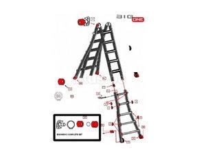Multifunctionele Ladders - Onderdelen