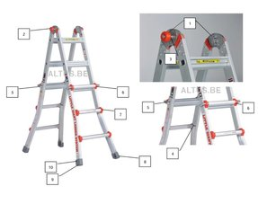 little giant aluminium vouwladder