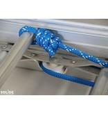 Solide Solide 3-delige professionele touwladder model F3x22 treden