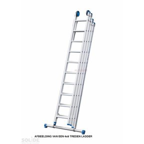 4-delige ladder, 4 x 9 sporten