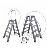 Solide DTBKL Klapbare beugel voor dubbele trapladder solide type DT vanaf 2x5 treden