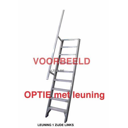 Solide Solide professionele rechte enkele trap 4 treden