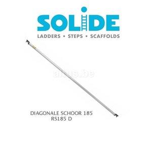 Solide Diagonale schoor 185