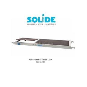 Solide Platform 185 met luik