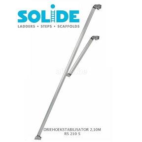 Solide driehoekstabilisator 210