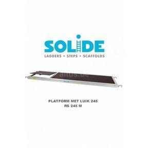 Solide Platform 245 met luik