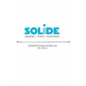 Solide Horizontale schoor 305