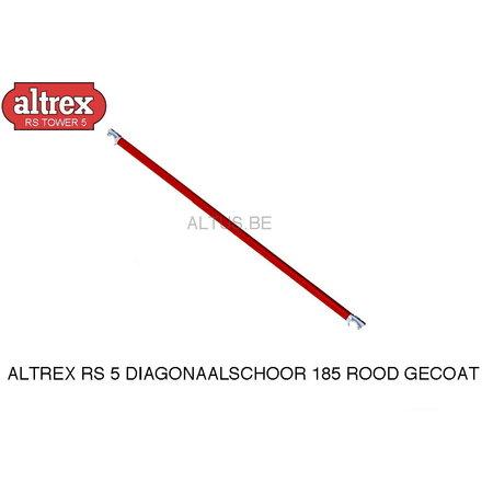 Altrex Altrex RS5 tower onderdelen diagonaalschoor rood 185-28