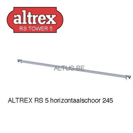 Altrex Altrex RS5 tower onderdelen horizontale schoor 2.45m