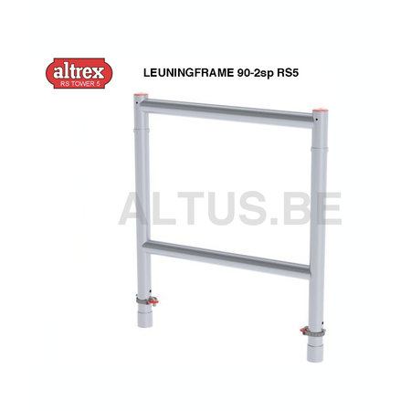 Altrex Altrex RS5 tower onderdelen Leuningframe 90-2sp RS5