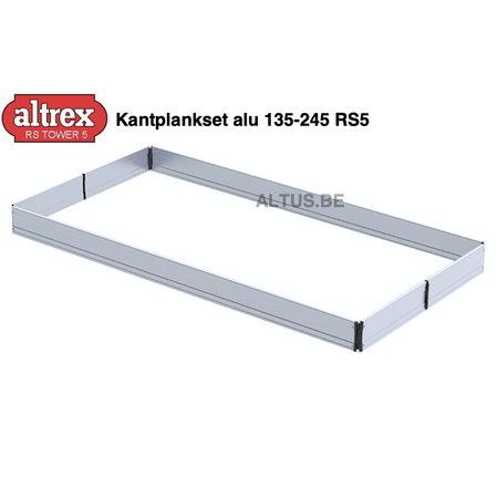 Altrex Altrex RS5 tower onderdelen Kantplankset alu 135-245 RS5