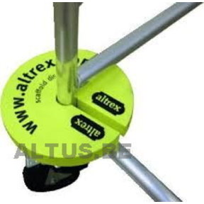 Scaffold disc (set 4 st) steigerbumper