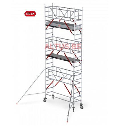 altrex RS Tower 51-S met Safe-Quick 0.75(B) x 3.05(L) x 5.20m vh = 7.20m wh