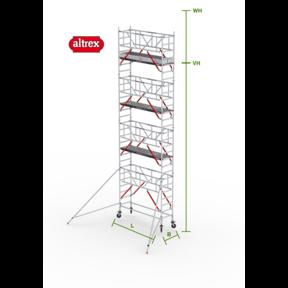RS Tower 51-S met Safe-Quick 0.75(B) x 2.45(L) x 7.20m vh = 9.20m wh