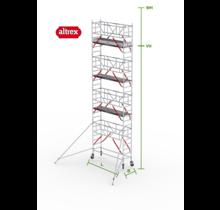 RS Tower 51-S met Safe-Quick 0.75(B) x 3.05(L) x 7.20m vh = 9.20m wh