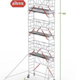 altrex RS Tower 51-S met Safe-Quick 0.75(B) x 3.05(L) x 6.20m vh = 8.20m wh