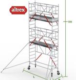 altrex RS Tower 51-S met Safe-Quick 0.75(B) x 2.45(L) x 4.20m vh = 6.20m wh