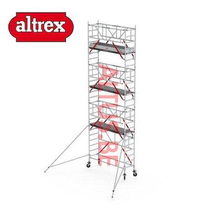 altrex RS Tower 51-S met Safe-Quick 0.75(B) x 1.85(L) x 7.20m vh = 9.20m wh
