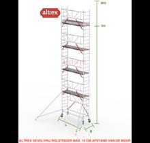 Gevelvrij RS Tower 51-S met Safe-Quick 0.75(B) x 1.85(L) x 8.20m vh = 10.20m wh