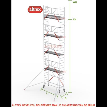 altrex Gevelvrij RS Tower 51-S met Safe-Quick 0.75(B) x 1.85(L) x 8.20m vh = 10.20m wh