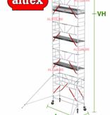 altrex Gevelvrij RS Tower 51-S met Safe-Quick 0.75(B) x 2.45(L) x 7.20m vh = 9.20m wh