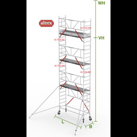 altrex Gevelvrij RS Tower 51-S met Safe-Quick 0.75(B) x 2.45(L) x 6.20m vh = 8.20m wh