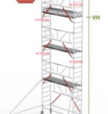 altrex Gevelvrij RS Tower 51-S met Safe-Quick 0.75(B) x 1.85(L) x 6.20m vh = 8.20m wh