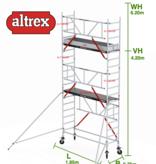 altrex Gevelvrij RS Tower 51-S met Safe-Quick 0.75(B) x 1.85(L) x 4.20m vh = 6.20m wh