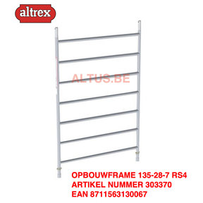 RS 4 TOWER opbouwframe 135-28-7