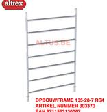 altrex RS TOWER 42-S met Safe-Quick® Guardrail 1,35 x 1,85m x 9,20m VH = 11,20m WH
