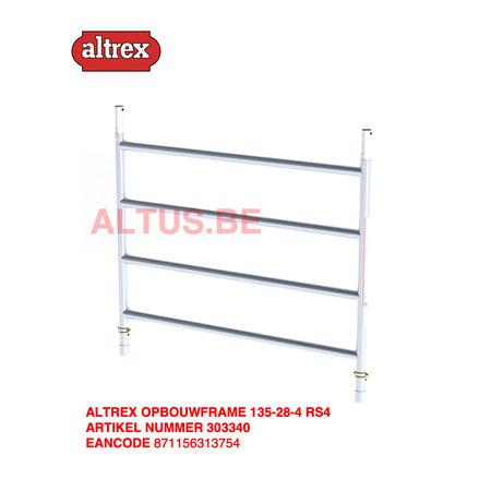 altrex RS TOWER 42-S met Safe-Quick® Guardrail 1,35 x 1,85m x 10,20m VH= 12,20m WH