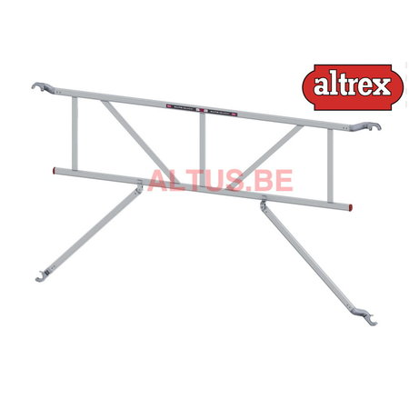 altrex Safe-Quick®2 Guardrail 2,45m RS4
