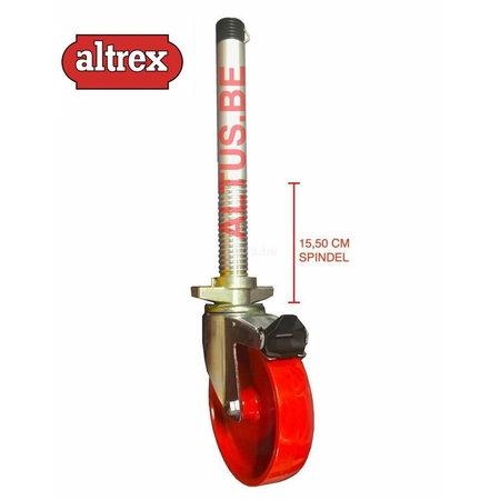 altrex RS TOWER 42-S met Safe-Quick® Guardrail 1,35 x 1,45m x 6,20m VH=8,20m WH