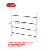 altrex RS TOWER 42-S met Safe-Quick® Guardrail 1,35 x 2,45m x 4,20m VH=6,20mWH