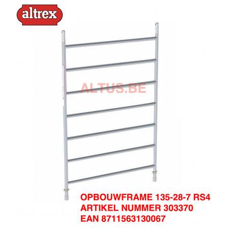 altrex RS TOWER 42-S met Safe-Quick® Guardrail 1,35 x 1,45m x 5,20m VH=7,20m WH