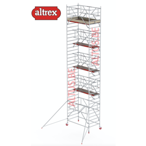 RS-42 Tower Safe-Quick 1,35 x 2,45 x 9,20mVH = 11,20m WH