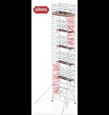 altrex RS TOWER 42-S met Safe-Quick® Guardrail 1,35 x 2,45m x 11,20m VH= 13,20m WH