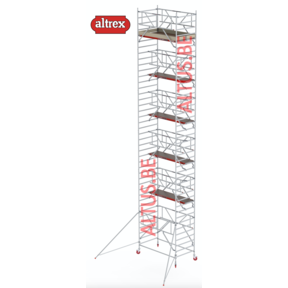 RS-42 Tower Safe-Quick 1,35 x 2,45 x 11,20mVH = 13,20m WH