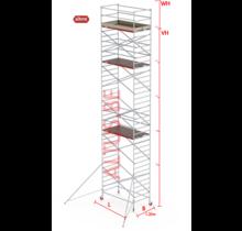 RS-42 Tower 1.35m B x 2.45m L x 10.20m Vh = 12.20 wh traditionele opbouw