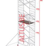 Altrex RS-42 Tower 1.35m B x 1.85m L x 8.20m Vh = 10.20 wh traditionele opbouw