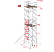 RS-42 Tower 1.35m B x 1.85m L x 8.20m Vh = 10.20 wh traditionele opbouw