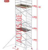 Altrex RS-42 Tower 1.35m B x 2.45m L x7.20m Vh = 9.20 wh traditionele opbouw