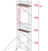 Altrex RS-41 Tower 0.75m B x 2.45m L x 7.20m Vh = 9.20 wh traditionele opbouw