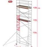 Altrex RS-41 Tower 0.75m B x 2.45m L x 6.20m Vh = 8.20 wh traditionele opbouw