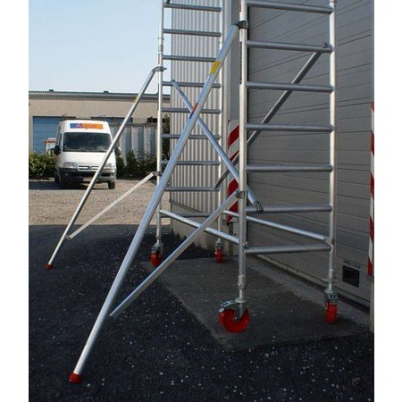 Altrex RS-41 Tower 0.75m B x 1.85m L x 7.20m Vh = 9.20 wh traditionele opbouw