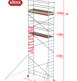 Altrex RS-41 Tower 0.75m B x 1.85m L x 6.20m Vh = 8.20 wh traditionele opbouw
